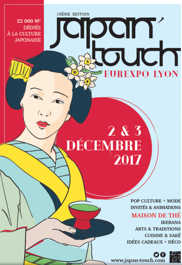 Japan touch et salon de l asie eurexpo lyon les 2 et 3 for Salon eurexpo lyon 2017