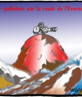 Népal : méga-pollution sur la route de l'Everest