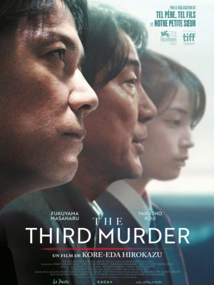 The Third Murder de Kore-Eda Hirokazu sort en salles.